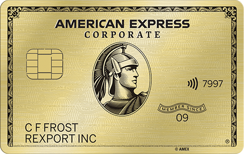 American Express Corporate Card Gold